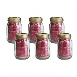 1602.047kilner 0.5 litre set of 6 preserve jars
