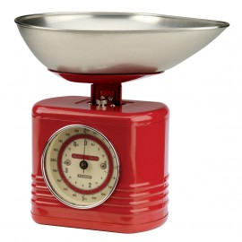 1612.064typhoon vintage kitchen red kitchen scales