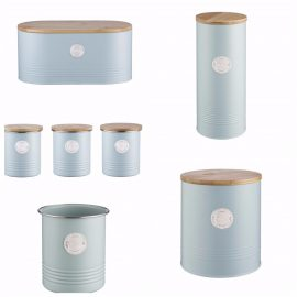 Typhon Living Blue 7 piece storage Heart of the Home Lytham Potdolly