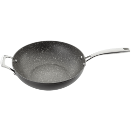 STELLAR ROCKTANIUM NON STICK WOK 30 cm STIR FRY PAN HEART OF THE HOME LYTHAM POTDOLLY SP49