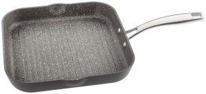 Stellar Rocktanium Griddle Pan Npn stick Grill pan Best Home Cook pans Heart of the Home Lytham www.potdolly