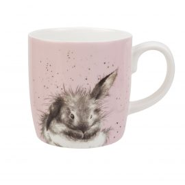 WRENDALE DESIGNS XL MUGS WRENDALE BATHTIME RABBIT BUNNY PINK LARGE MUG HANNAH DALE MUGS ROYAL WORCESTER CHINA HEART OF THE HOME LYTHAM POTDOLLY MMPY4020-XD