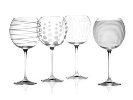 Mikasa Glasses Gin Goblets Lead Free Crystal Heart of the Home Lytham www.potdolly.com 2