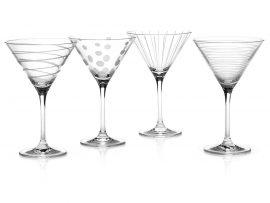 Mikasa Glasses Martini Cocktail Lead Free Crystal Heart of the Home Lytham www.potdolly.com