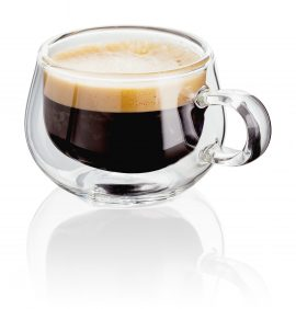 Double Walled Glasses Glass Espresso Cups JDG25 Judge Double Wall Set of 2 Espresso Glass 75ml - Propped - Reflection Heart of the Home Lytham www.potdolly.com