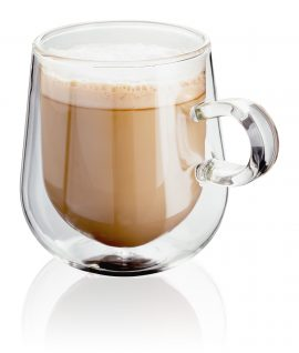 Double walled latte glasses JDG35 Judge Double Wall Set of 2 Latte Glass 300ml - Propped - Reflection Heart of the Home Lytham www.potdolly.com