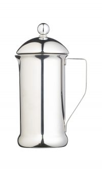 Le'Xpress 3 Cup Single Walled Stainless Steel Cafetiere Heart of the Home Lytham www.potdolly.com KCLXPRESS3SS - Copy
