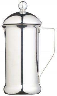 Le'Xpress 8 Cup Single Walled Stainless Steel Cafetiere Heart of the Home Lytham www.potdolly.com KCLXPRESS8SS - Copy