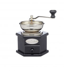 Le'Xpress Antique-Style Hand Coffee Mill (16.5 x 12 x 18.5 cm) Heart of the Home Lytham www.potdolly.com KCLXGRIND5